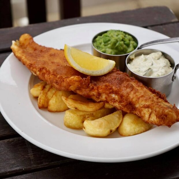 Local Ale Battered Haddock